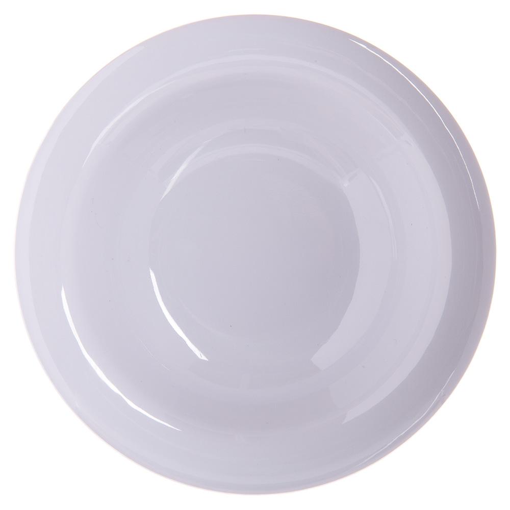 """Carlisle 4304202 4.75"""" Round Fruit Bowl w/ 4.5-oz Capacity, Melamine, White"""
