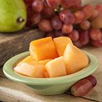 "Carlisle 4304216 4.75"" Round Fruit Bowl w/ 4.5-oz Capacity, Melamine, Firenze Green"