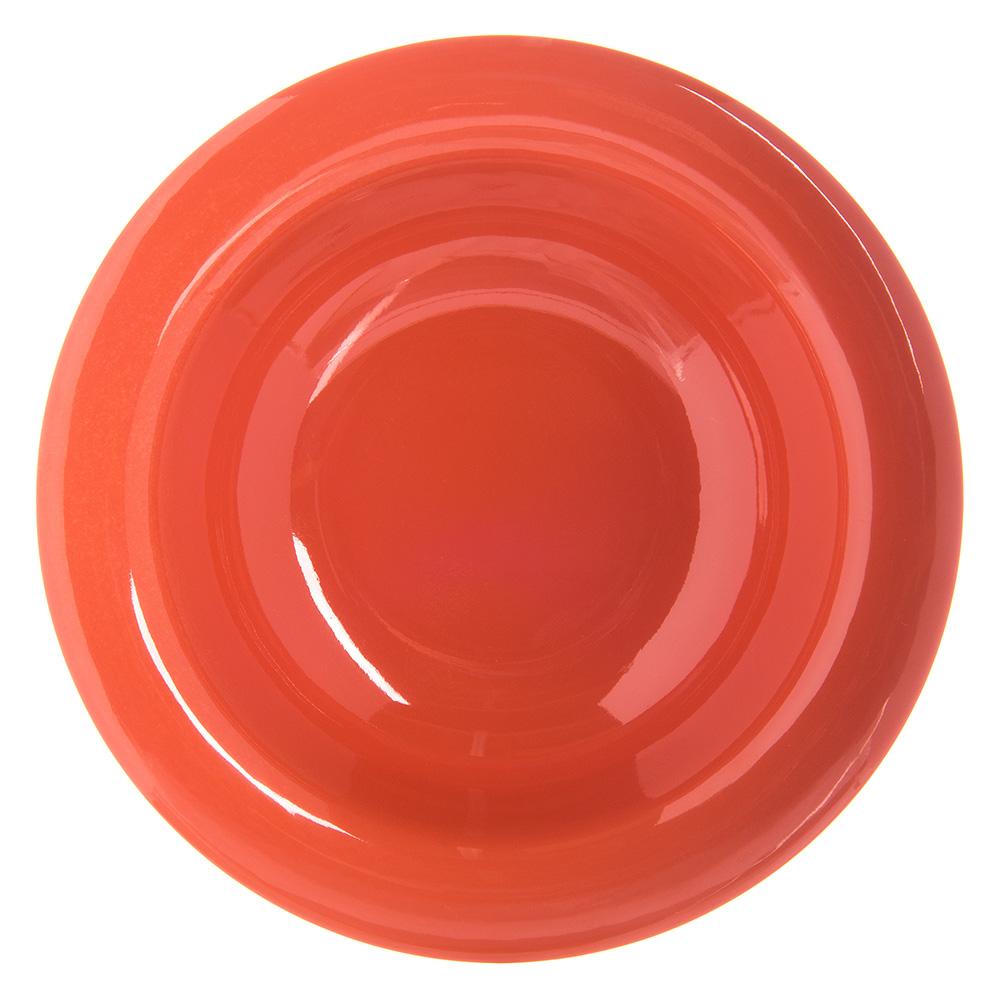 """Carlisle 4304252 4.75"""" Round Fruit Bowl w/ 4.5-oz Capacity, Melamine, Sunset Orange"""