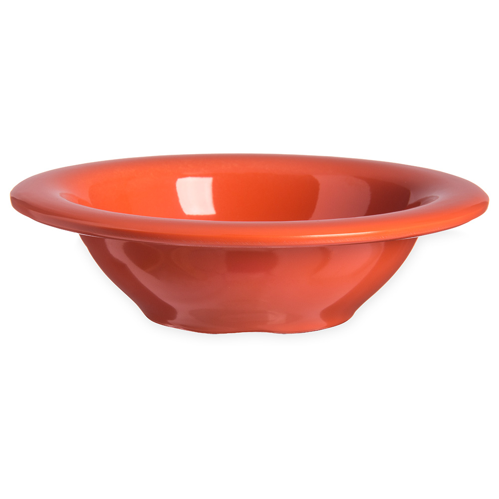Carlisle 4304252 4-1/2-oz Durus Fruit Bowl - Melamine, Sunset Orange