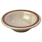 Carlisle 43043908 4-1/2-oz Durus Fruit Bowl - Melamine, Sierra Sand on Sand