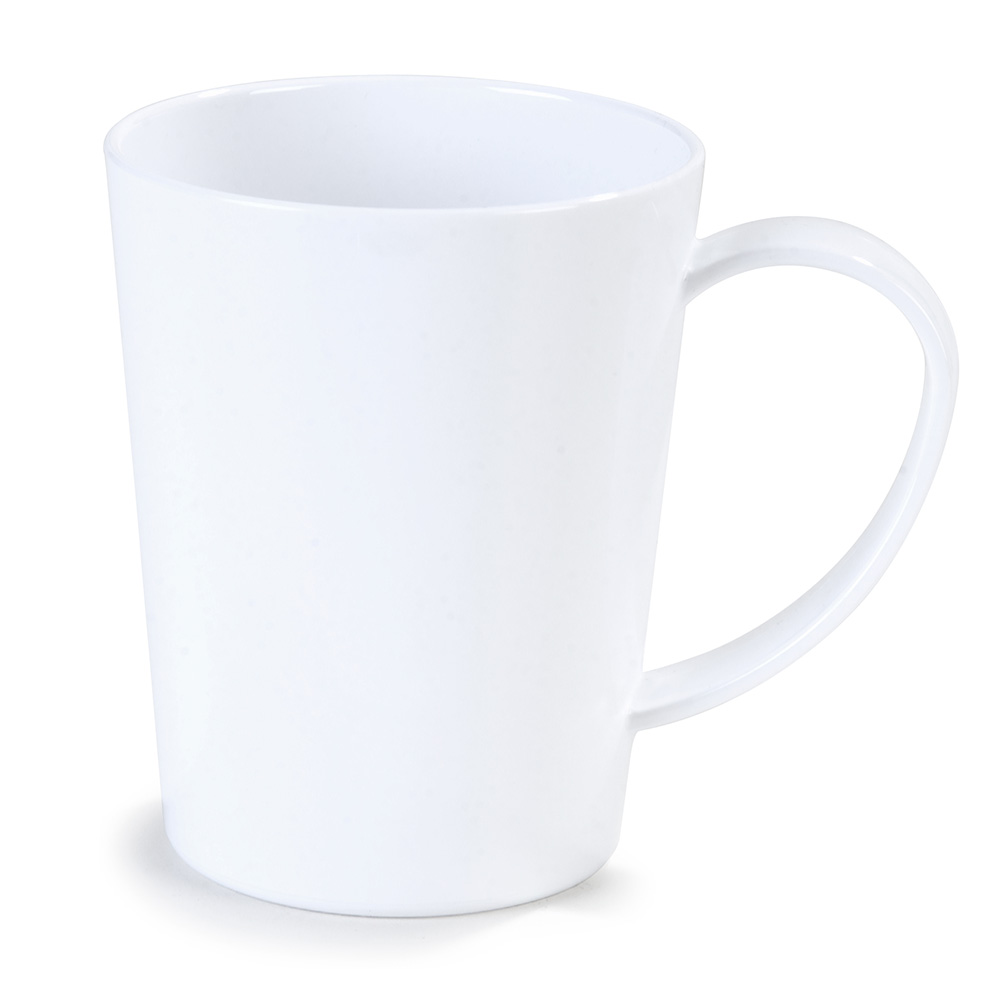 Carlisle 4306802 12-oz Nestable Mug - White