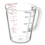 Carlisle 4314307 32-oz (1-quart) Oval Measuring Cup - Clear