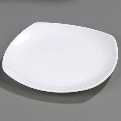 Carlisle 4330202 Square 13.5 x 13.5-in Melamine Plate, White