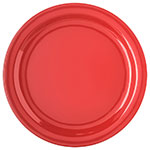 "Carlisle 4350005 10-1/4"" Dallas Ware Dinner Plate - Melamine, Red"