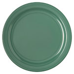 "Carlisle 4350009 10-1/4"" Dallas Ware Dinner Plate - Melamine, Meadow Green"