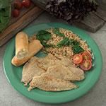 "Carlisle 4350009 10.25"" Round Dinner Plate w/ Reinforced Rim, Melamine, Meadow Green"