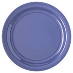 "Carlisle 4350014 10-1/4"" Dallas Ware Dinner Plate - Melamine, Blue"