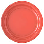 "Carlisle 4350052 10-1/4"" Dallas Ware Dinner Plate - Melamine, Sunset Orange"