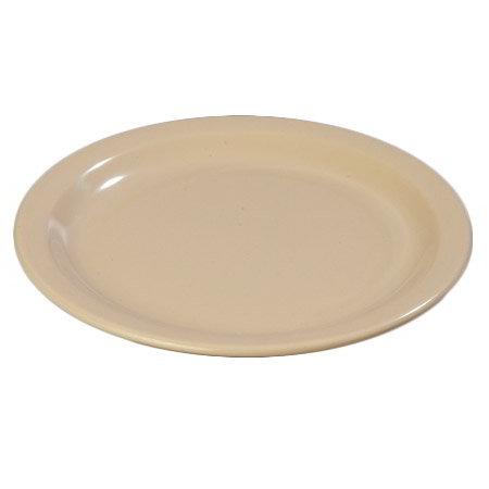"Carlisle 43501-825 9"" Dallas Ware Dinner Plate - (12/Pk) Melamine, Tan"