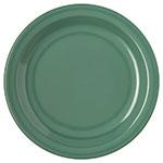 "Carlisle 4350309 7-1/4"" Dallas Ware Salad Plate - Melamine, Meadow Green"