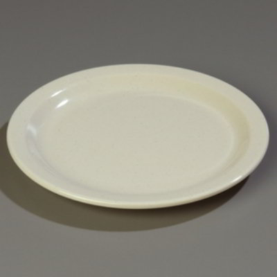 Carlisle Food Service 4350319 7.25-in Dallas Ware Salad Plate NSF Sandstone Restaurant Supply