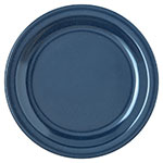 "Carlisle 4350335 7-1/4"" Dallas Ware Salad Plate - Melamine, Cafe Blue"