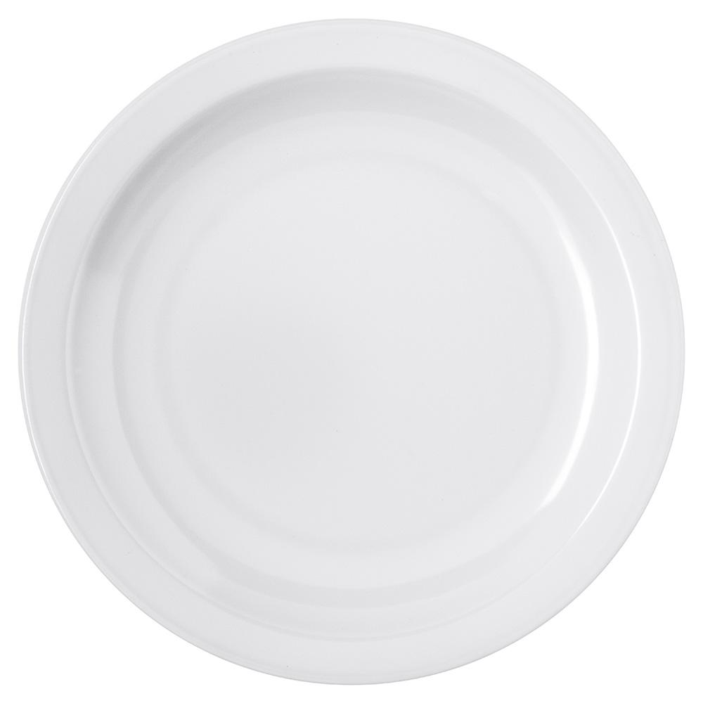 """Carlisle 4350402 6-1/2"""" Dallas Ware Pie Plate - Melamine, White"""