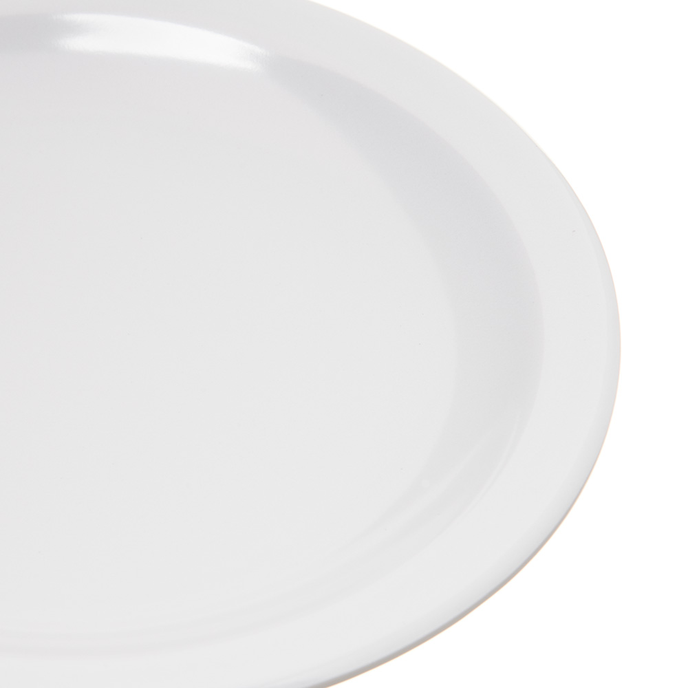"Carlisle 4350502 5.625"" Round Bread & Butter Plate w/ Reinforced Rim, Melamine, White"