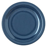 "Carlisle 4350535 5-5/8"" Dallas Ware Bread/Butter Plate - Melamine, Cafe Blue"