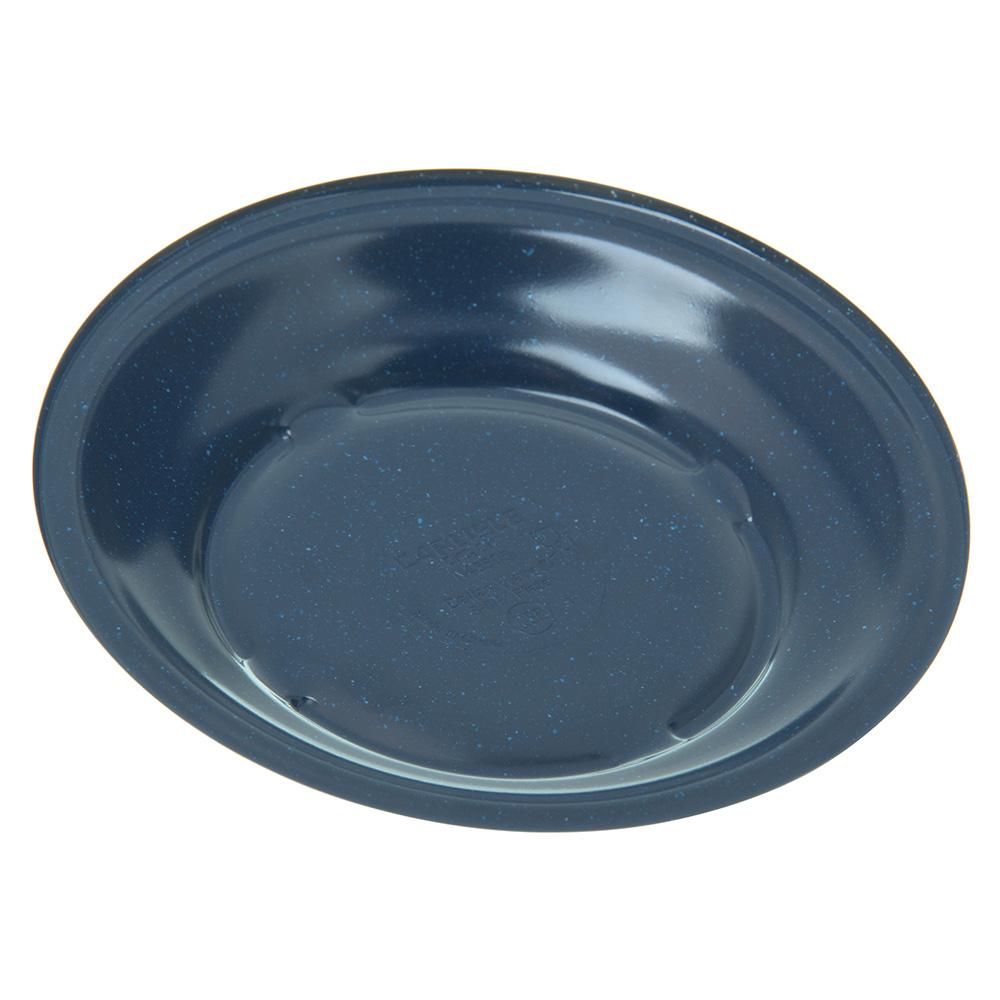 "Carlisle 4350535 5.625"" Round Bread & Butter Plate w/ Reinforced Rim, Melamine, Cafe Blue"