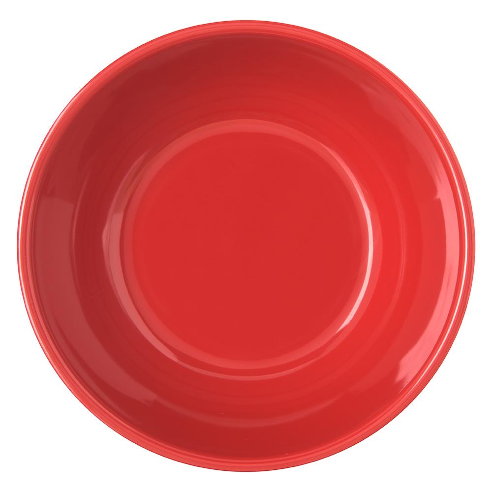 "Carlisle 4352105 5.5"" Round Nappie Bowl w/ 14-oz Capacity, Melamine, Red"