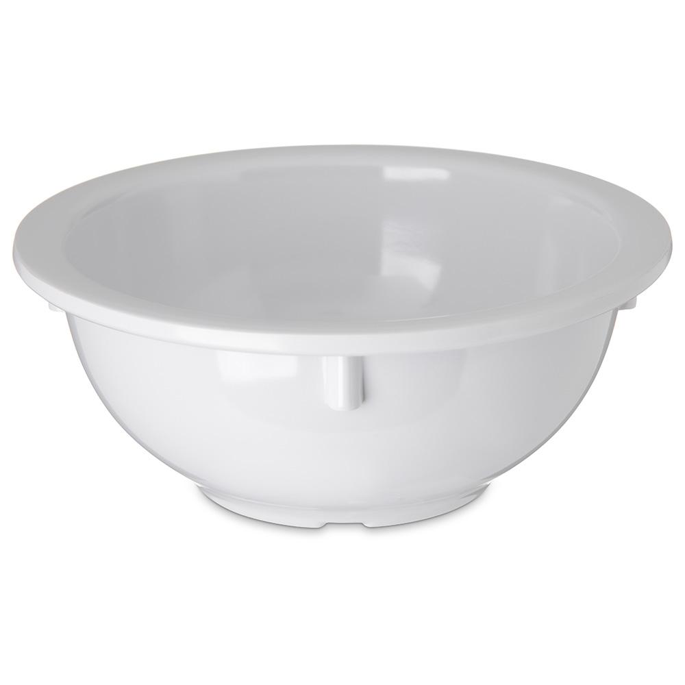 "Carlisle 4352202 5.5"" Round Rim Nappie Bowl w/ 14-oz Capacity, Melamine, White"