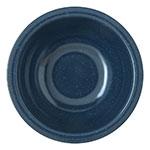 "Carlisle 4352235 5.5"" Round Rim Nappie Bowl w/ 14-oz Capacity, Melamine, Cafe Blue"