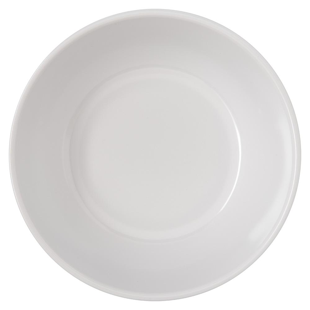 """Carlisle 4352802 5"""" Round Nappie Bowl w/ 10-oz Capacity, Melamine, White"""