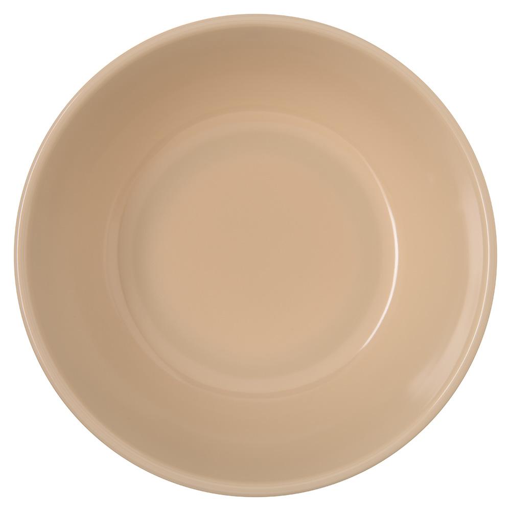 "Carlisle 4352825 5"" Round Nappie Bowl w/ 10-oz Capacity, Melamine, Tan"
