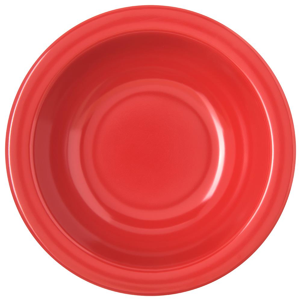 "Carlisle 4352905 5.875"" Round Grapefruit Bowl w/ 10-oz Capacity, Melamine, Red"