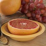 """Carlisle 4352922 5.875"""" Round Grapefruit Bowl w/ 10-oz Capacity, Melamine, Honey Yellow"""