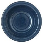 "Carlisle 4352935 5.875"" Round Grapefruit Bowl w/ 10-oz Capacity, Melamine, Cafe Blue"