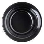 """Carlisle 4353203 4.125"""" Round Fruit Bowl w/ 3.5-oz Capacity, Melamine, Black"""