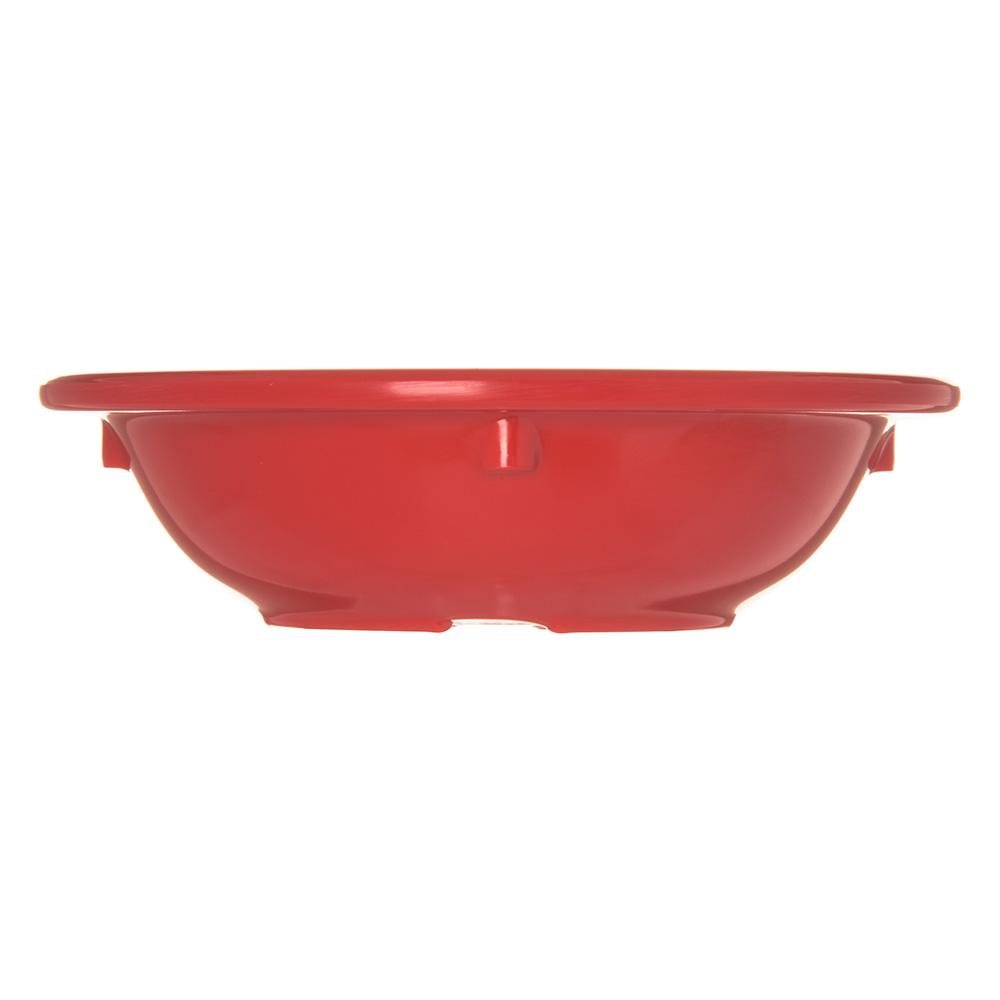 """Carlisle 4353205 4.125"""" Round Fruit Bowl w/ 3.5-oz Capacity, Melamine, Red"""