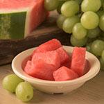 "Carlisle 4353225 4.125"" Round Fruit bowl w/ 3.5-oz Capacity, Melamine, Tan"