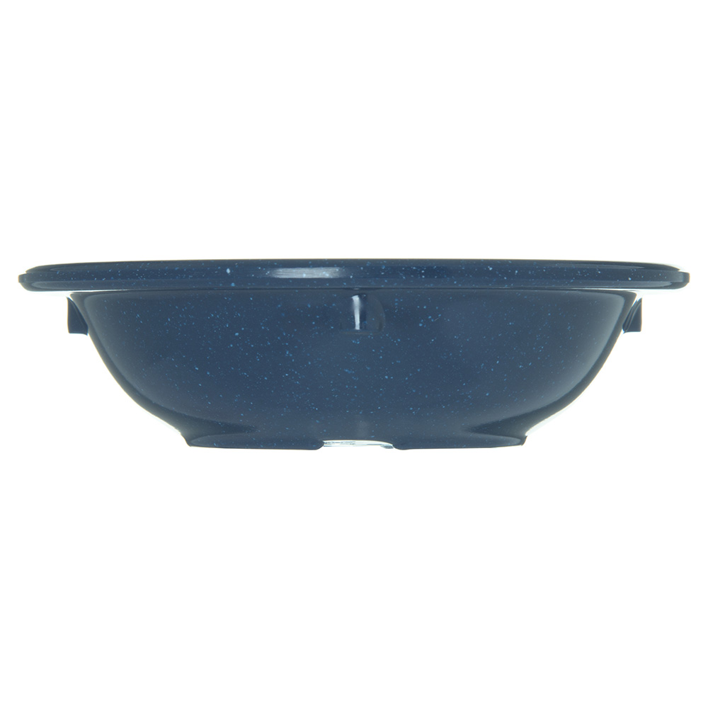 """Carlisle 4353235 4.125"""" Round Fruit Bowl w/ 3.5-oz Capacity, Melamine, Cafe Blue"""