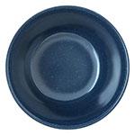 "Carlisle 4354035 3.75"" Round Bouillon Cup w/ 8-oz Capacity, Melamine, Cafe Blue"