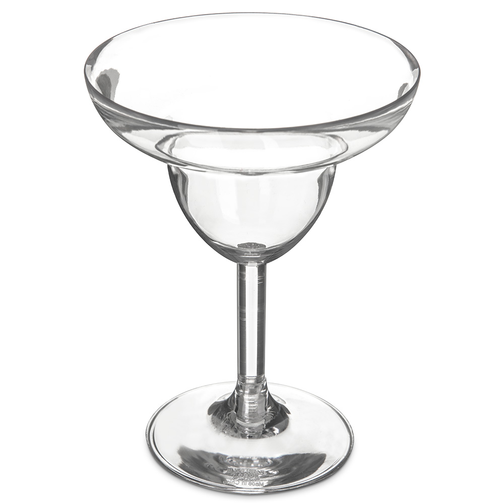 Carlisle 4362407 9-1/2-oz Liberty Margarita Glass - Polycarbonate, Clear