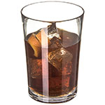 Carlisle 4362507 18-oz Double Old Fashioned Glass, Polycarbonate, Clear