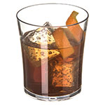 Carlisle 4362807 8-oz Old Fashioned Glass, Polycarbonate, Clear