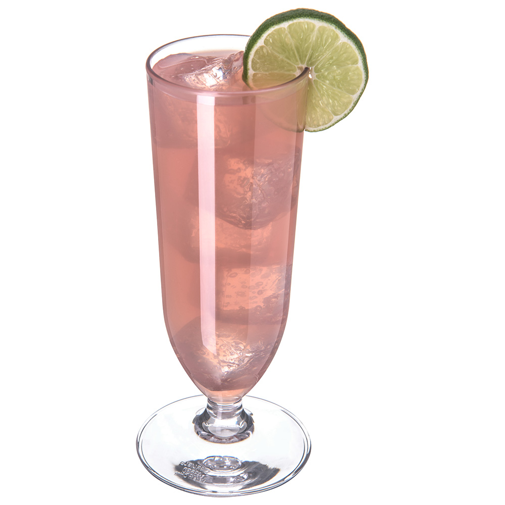 Carlisle 4363007 13-oz Cocktail Glass, Polycarbonate, Clear