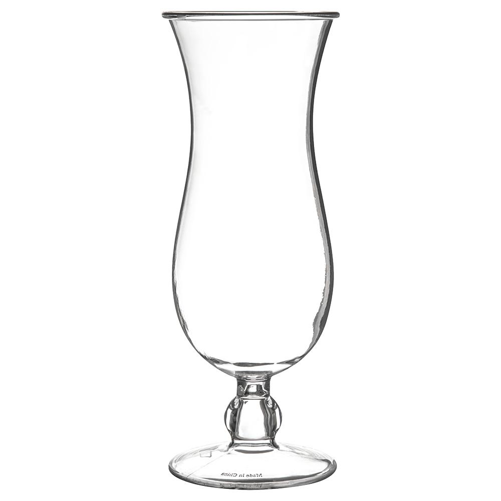 Carlisle 4363107 15-oz Hurrican Glass, Polycarbonate, Clear