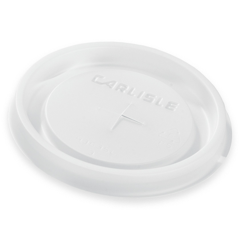 Carlisle 43635L30 10-oz Lafayette Tumbler Disposable Lid - Translucent