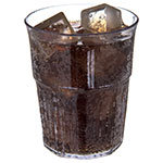 Carlisle 4364907 9-oz Stackable Old Fashion Tumbler w/ Flared Lip, Clear