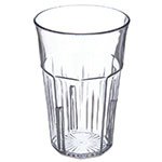 Carlisle 4365307 16-oz Stackable Tumbler w/ Flared Lip, Clear