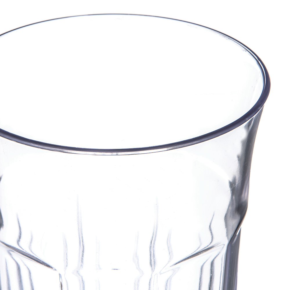 Carlisle 4365507 22-oz Stackable Tumbler w/ Flared Lip, Clear