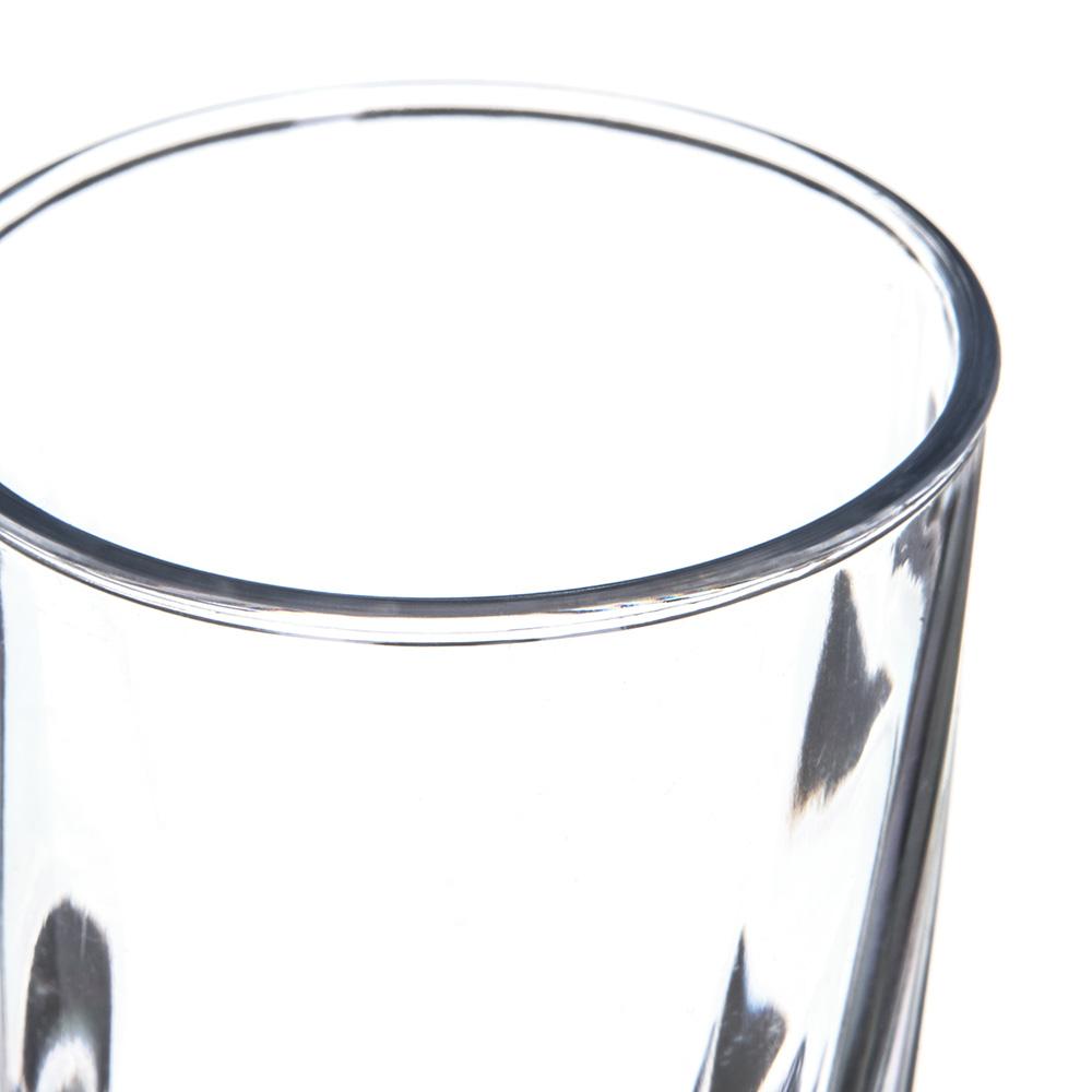 Carlisle 4366307 8-oz Tumbler w/ Graduated Measurements, Polycarbonate, Clear