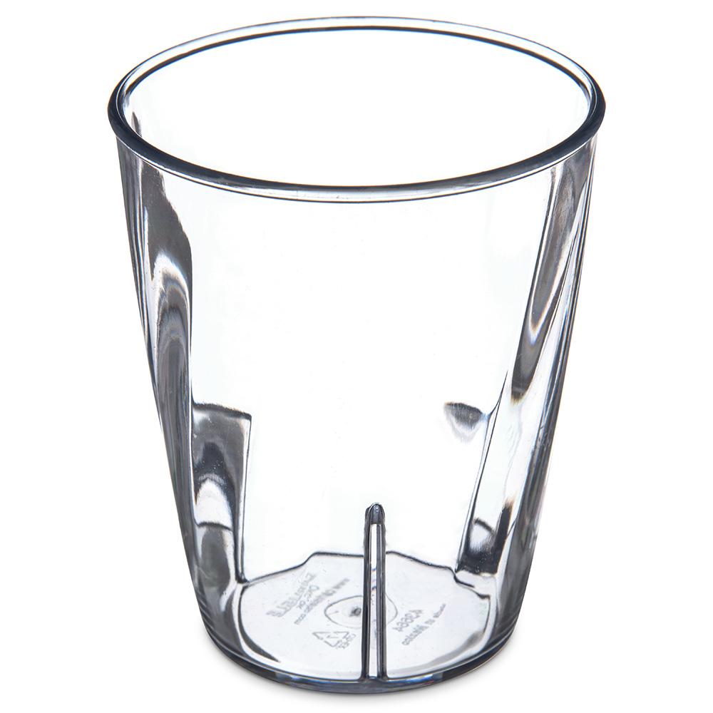 Carlisle 4366407 9-oz Tumbler w/ Graduated Measurements, Polycarbonate, Clear