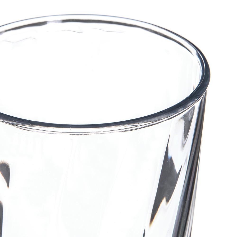 Carlisle 4366607 12-oz Tumbler w/ Graduated Measurements, Polycarbonate, Clear