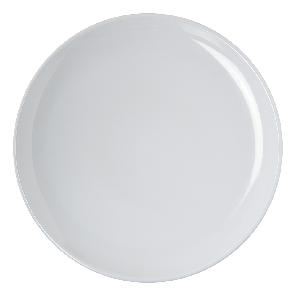 """Carlisle 4380102 10"""" Epicure Dinner Plate - Melamine, White"""