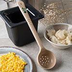 Carlisle 438106 4-oz Perforated Portion Server w/ Color Coded Capacities, Polycarbonate, Beige