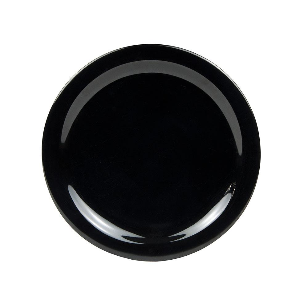 "Carlisle 4385003 10-1/4"" Dayton Dinner Plate - Black"