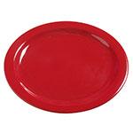 "Carlisle 4385005 10-1/4"" Dayton Dinner Plate - Red"